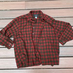 G. H. Bass & Co. Red And Green Flannel